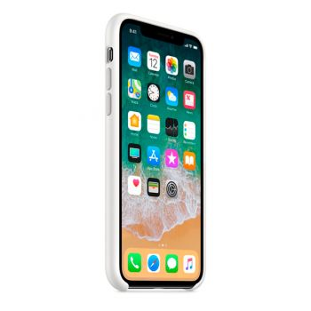 Чехол для iPhone Apple iPhone X Silicone Case White